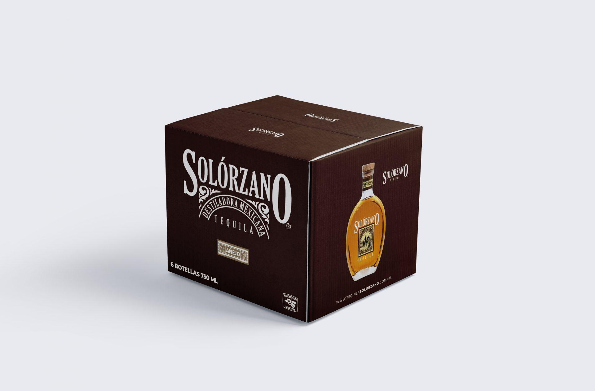 Caja Solorzano Añejo 750ml